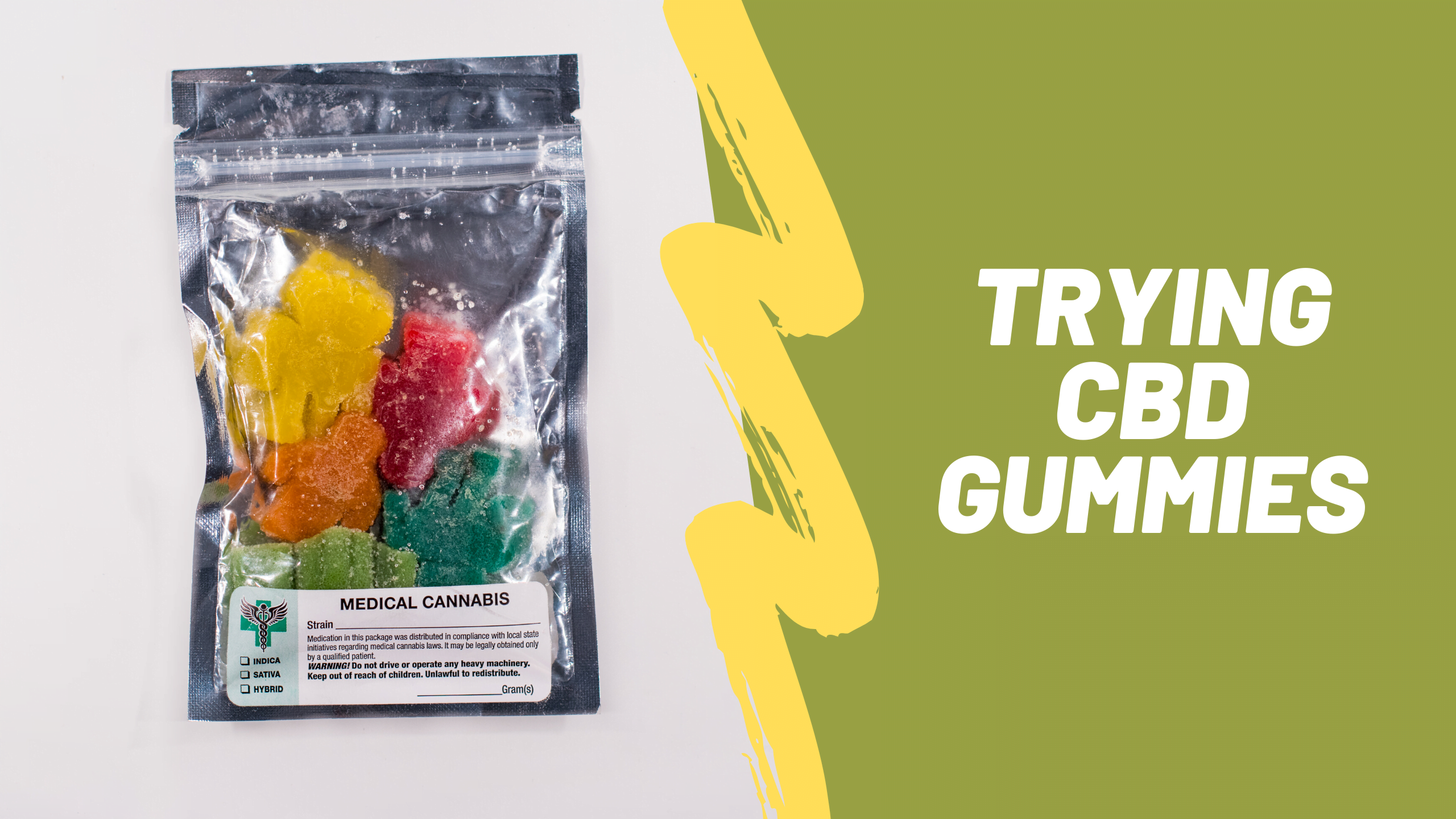 Trying CBD gummies- I Had  Good Impressions